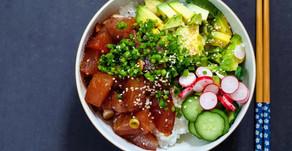 Poke Bowl with Ahi Tuna