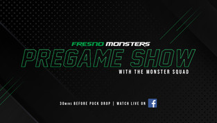 Monsters announce a new pregame show for the 2020-21 season
