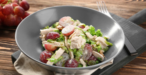 Chicken Salad with Grapes & Apples