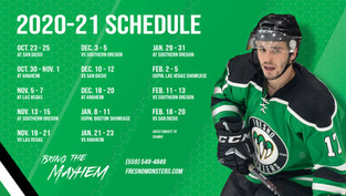 USPHL releases the Monsters 2020-21 season schedule