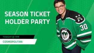 Season ticket holder party
