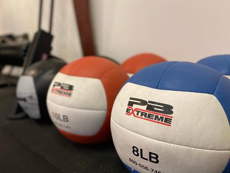 Medicine Ball Progressions