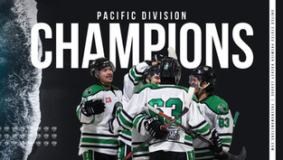 Fresno Monsters win the 2020-21' Pacific Division Championship