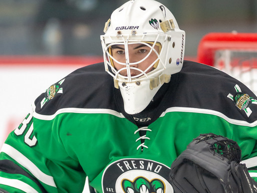 Fresno Monsters announce roster transaction - Max Karlenzig is back in the net