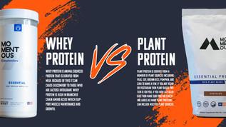 Whey vs. Plant Protein