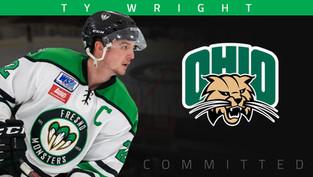 Captain Ty Wright commits to Ohio University
