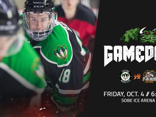 Game one in Las Vegas begins tonight