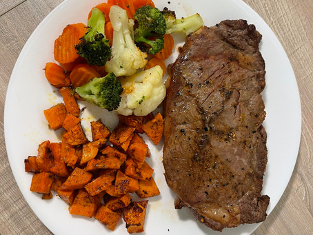 Sullivan Steak and Veggies