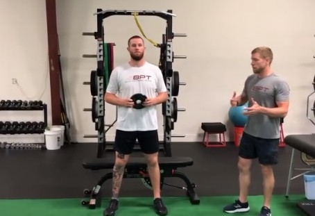 Counter Balance Squat To Bench