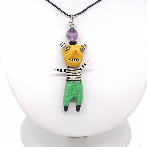 Yellow Weirdo Necklace
