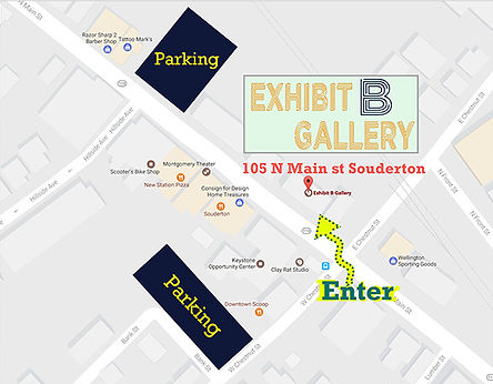 Exhibit B parking map