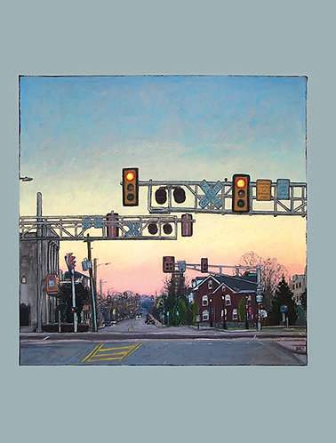 Greeting Card - Railroad Crossing