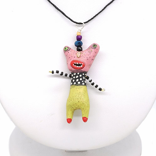 Pink Weirdo Necklace