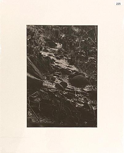 Silver Gelatin Photograph - Rocky Stream