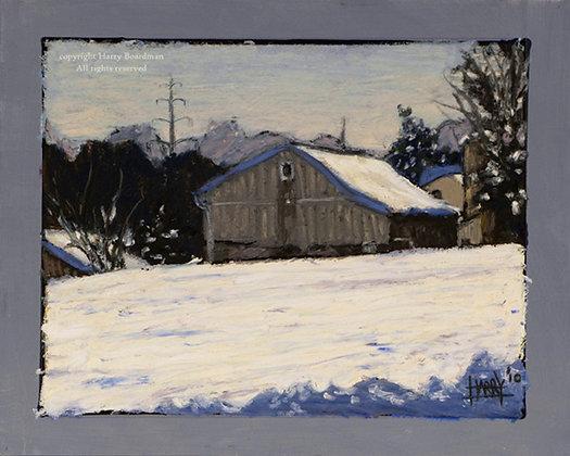 Linford Farm Over Snowy Hill