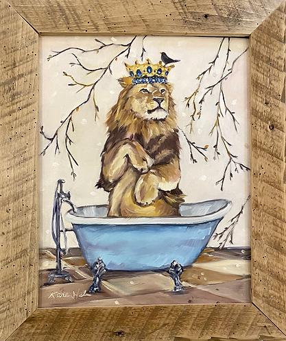Scrub Like a Lion
