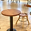 Thumbnail: Cherry Cafe Table with metal base