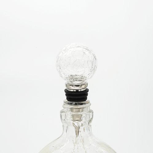 Hand Blown Wine Stopper - H