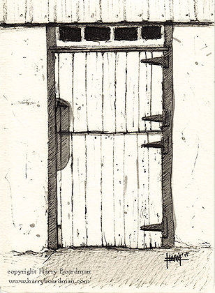 Barn Door - 2 Silos Farm