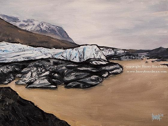 Glacial Melt - East Iceland