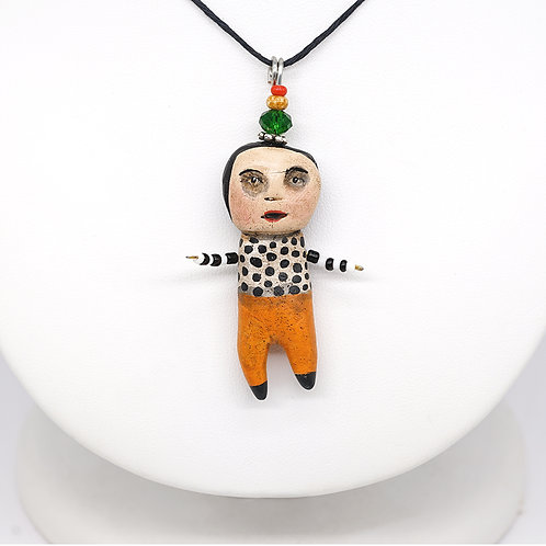 Polka Dots Dude Necklace