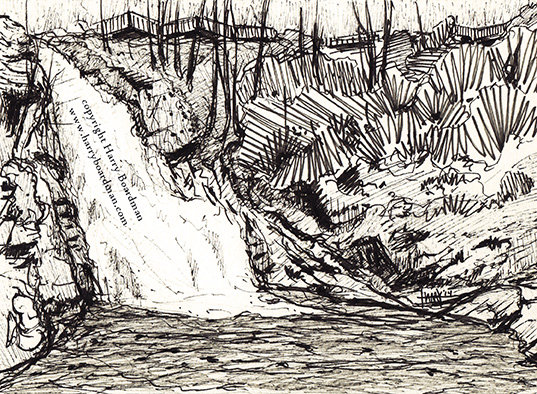 Bushkill Falls - Main Falls