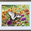 Thumbnail: Swallowtail and Zinnias