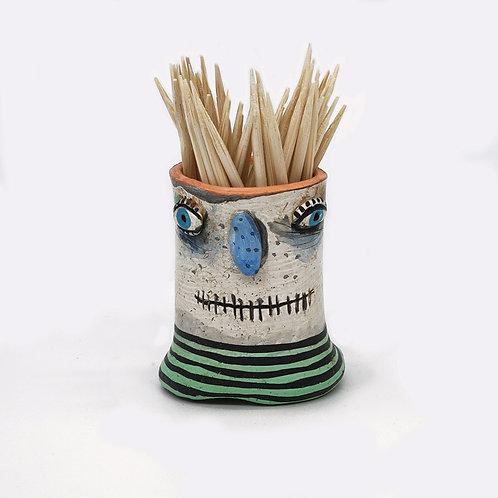 Blue Nose Pot Head