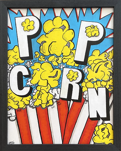 Pop(corn) Art