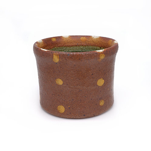 Medium Crock- Speckled with Dots