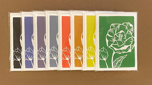 Note Cards - Flower