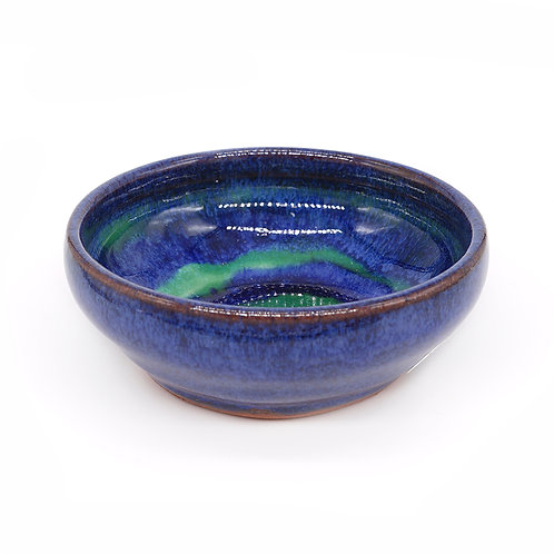 Mini bowl in blue and celadon glaze
