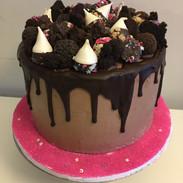 hocolate dripping cake