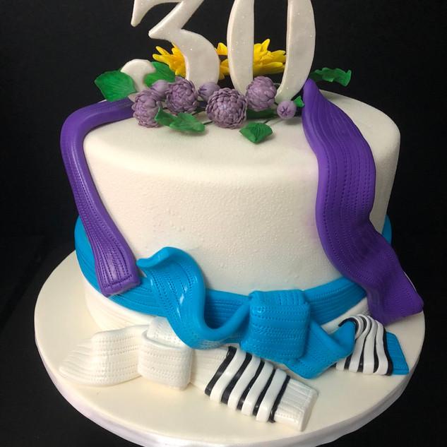 JiuJitsu cake