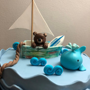 Naltical Baby shower theme