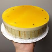 Passion fruit cake