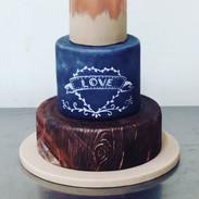 Chalk Wood Cake