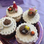 Tea Party Cupcake