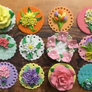 Spring Cupcake Decoration