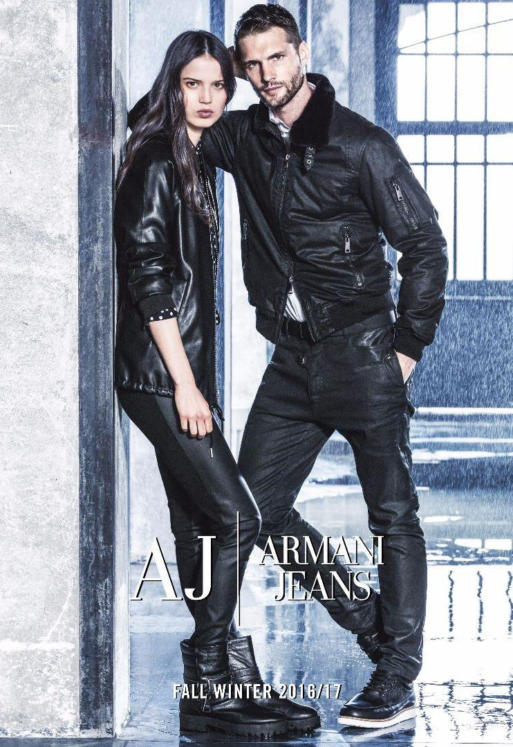 GN2 Sara Witt for Armani Jeans