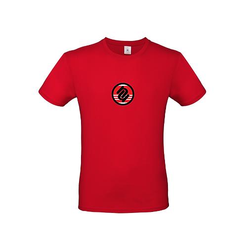 Team Logo Tee : Dangerous Red