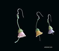 3 campanillas-earrings