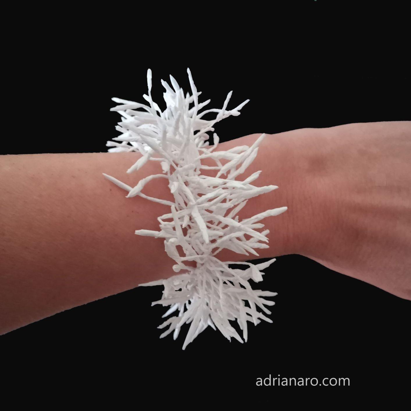 pulsera blanca