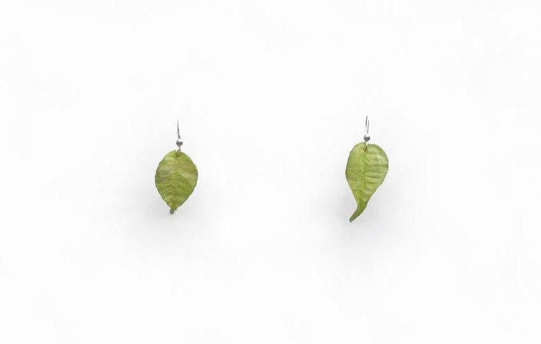 pendientes-hojas