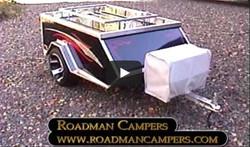 Motorcycle Camping Trailer