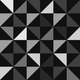 Geometric Triangles Black