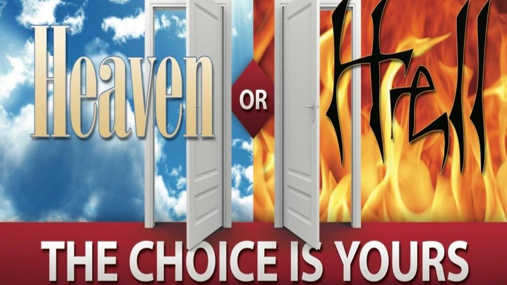 Heaven Hell choice