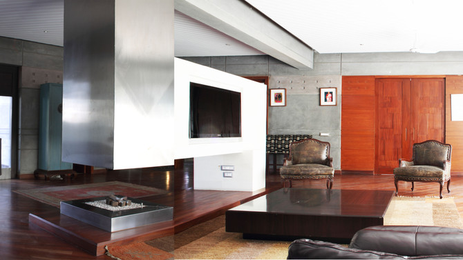 The Integrated Architectural Feature Fireplaces