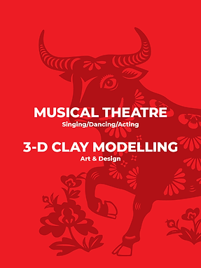 Musical Theatre & 3-D Clay Modelling