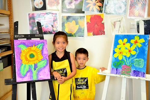 Drawing & Painting   Week 8 : 10.30 am - 11.30 am   Kowloon Tong